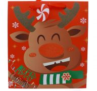 REINDEER LARGE GIFT BAG