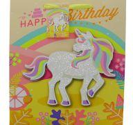 UNICORN HAPPY BIRTHDAY EXTRA LARGE GIFT BAG