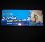 STORAGE BAGS QUART 20 BAGS SUB