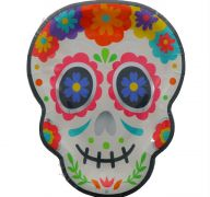 HOLA HALLOWEEN PAPER PLATES 9 INCH 8 PACK