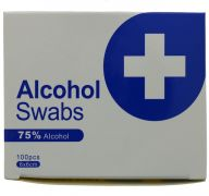 ALCOHOL SWABS 100 PACK