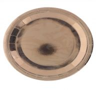 ROSE GOLD ROUND PLATE 9 INCH 8 PACK