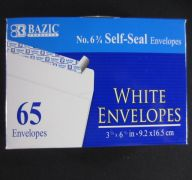 White Envelope 6IN