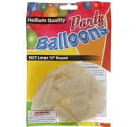 PEARLIZED LARGE 12 INCH BALLOON 10 COUNT