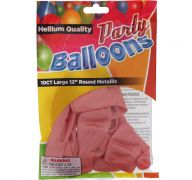 ROSE GOLD LARGE 12 INCH BALLOON 10 COUNT