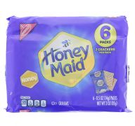 HONEY MAID CRACKERS 6 PACKS
