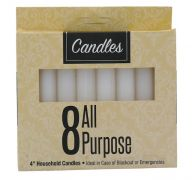 ALL PURPOSE CANDLE 4 INCH 8 PACK