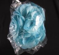 ROSE FLOWER TURQUOISE 4IN