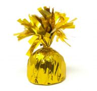 GOLD FOIL BALLOON WEIGHT 6 OZ 5 INCH