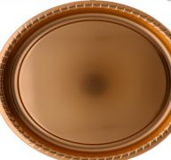 ROSE GOLD TRAY 16 INCH