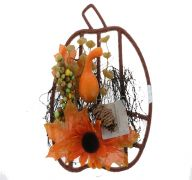 FALL FLORAL DECORATION
