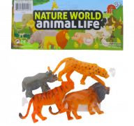 WILD ANIMALS 4 PACK