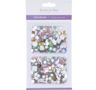 GEMSTONES ASSORT SHAPES COLORS AND SIZE