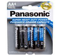 BATTERY PANASONIC AA 4PK