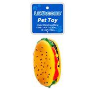 LIL BUDDIES PET TOY 4.9&ampquot HOT DOG