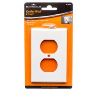 KINGMAN OUTLET WALL COVER WHITE