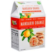 THAI JASMINE RICE CRACKERS MANDARIN ORANGE