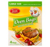 OVEN BAGS 4CT LARGE HOME SELECT