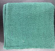 HAND TOWEL 16X27 IN GREEN