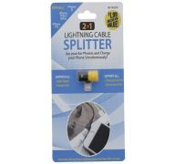LIGHTNING CABLE SPLITTER 2 IN 1  XXX