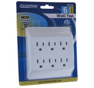 WALL TAP 6 OUTLET