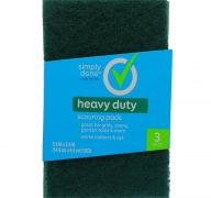 HEAVY DUTY SCOURING PADS 3 PADS