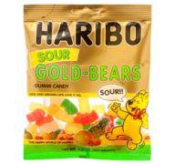 HARIBO GUMMY SOUR GOLD BEARS 3.6 OZ