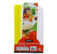 REUSABLE RECLOSABLE BAGS 2 PK 8 3.8 X 4.5 INCH