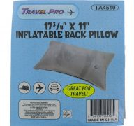 INFLATABLE BACK PILLOW 17.5 X 11 INCH