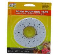 FOAM MOUNTING TAPE 0.75 INCH X 6 FT
