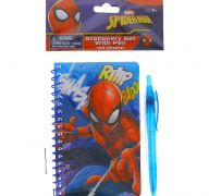 SPIDERMAN STATIONERY SET WITH PEN