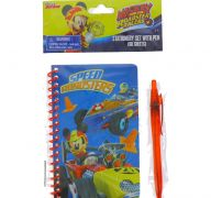 MICKEY SPIRAL NOTEBOOK WITH PEN