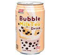 RICO BUBBLE MILK TEA DRINK 12.3 OZ