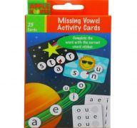 Apple House Missing Vowel Activity Cards XXX