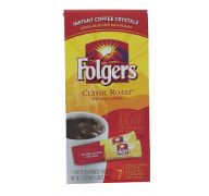 FOLGERS CLASSIC ROAST INSTANT COFFEE 7 COUNT