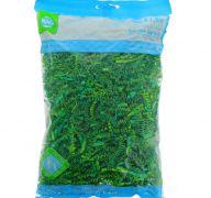 EASTER GRASS CRINKLE PAPER DARK GREEN