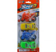 SPEED SUPER POWER CARDS 4 PACK
