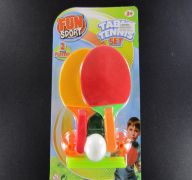 Table tennis set in blister card