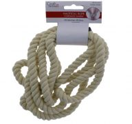 NATURAL COTTON ROPE 7.5 FT