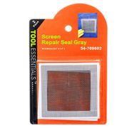 SCREEN REPAIR SEAL GRAY 3.5&ampquot X 3.5&ampquot