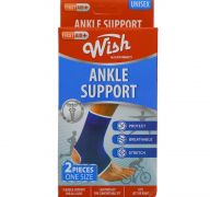 ANKLE SUPPORT 2 PACK ONE SIZE