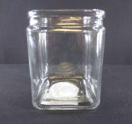 GLASS VASE 4IN