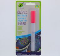 NEON PINK FABRIC PAINT PERMANENT MARKER