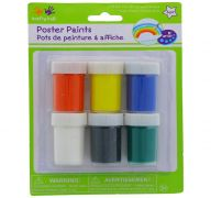 POSTER PAINT 6 COLORS 0.74 FL OZ