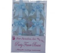 BLUE BABY THEMED FAVOR BOXES 6 COUNT