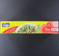 CLEAR PLASTIC WRAP