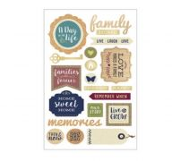 FAMILY 3D STICKER 20 PC