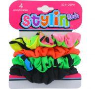 STYLIN GIRLS PONY HOLDER 4 PACK
