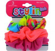 STYLIN GIRLS 3 PACK PONY HOLDER