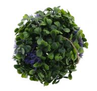 TOPIARY BALL WITH FLOWERS